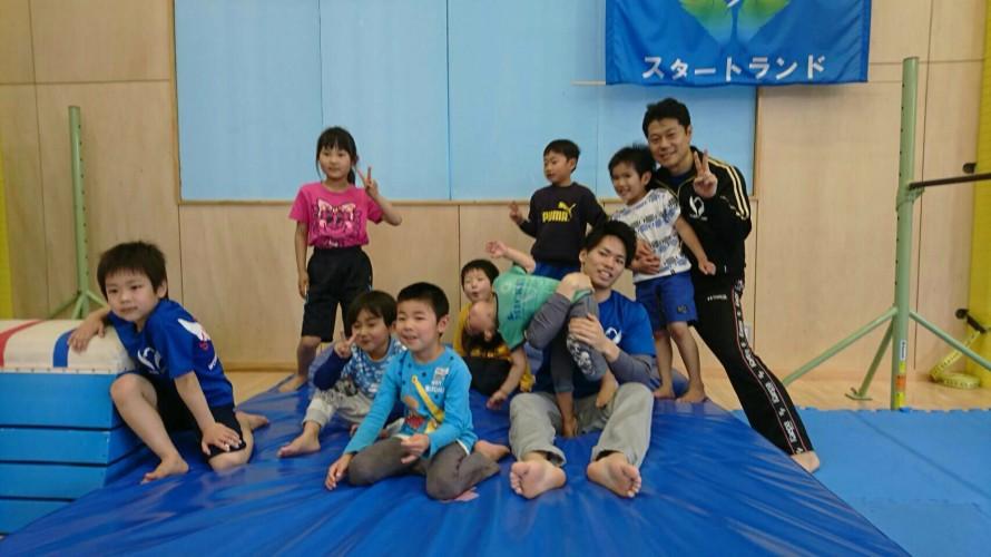 春の短期体操教室